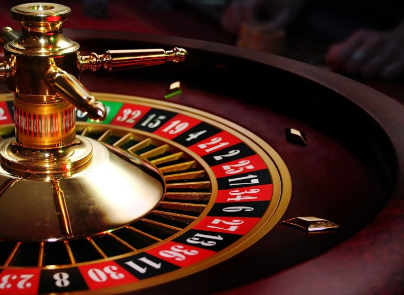 Casino table game baccarat